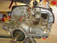 Here the 225 is off the airframe.  I sold it and it was put on another Navion that was in need.